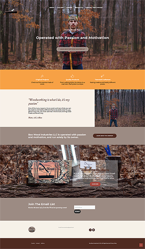 Boo Wood Industries, LLC